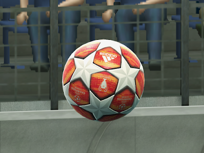 PES 2013 Balls Adidas UEFA Champions League FINAL 2018/2019 by M4rcelo