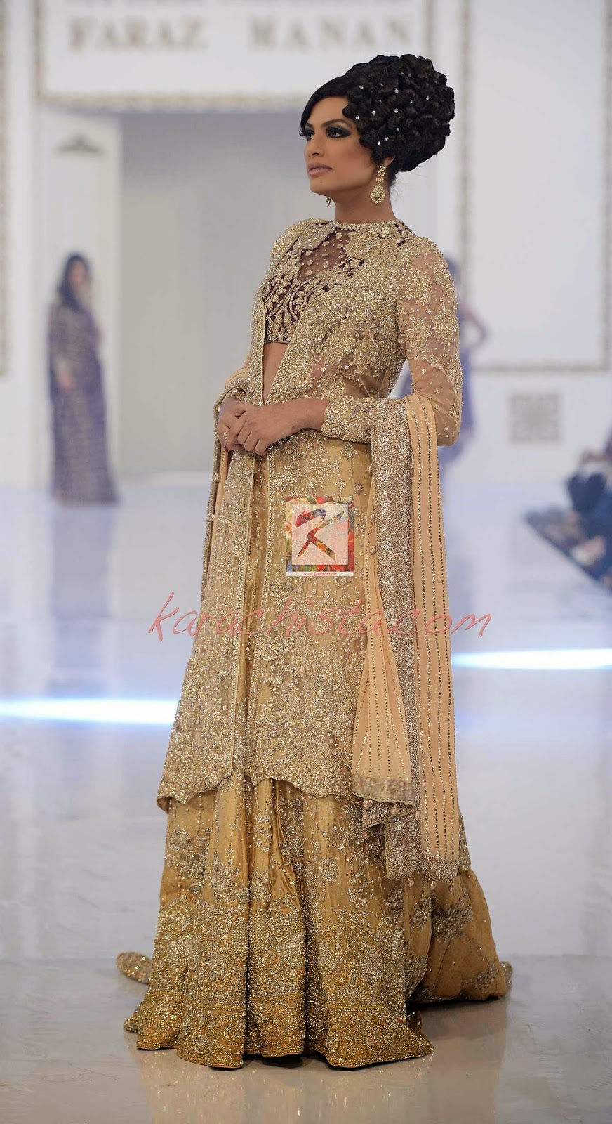 Faraz Manan Pakistani Bridal Wear 2014