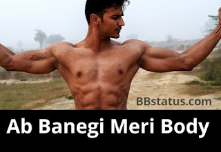 gym body status hindi