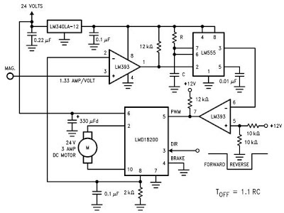 What Must todo: LMD18200 Motor Controller Schematic