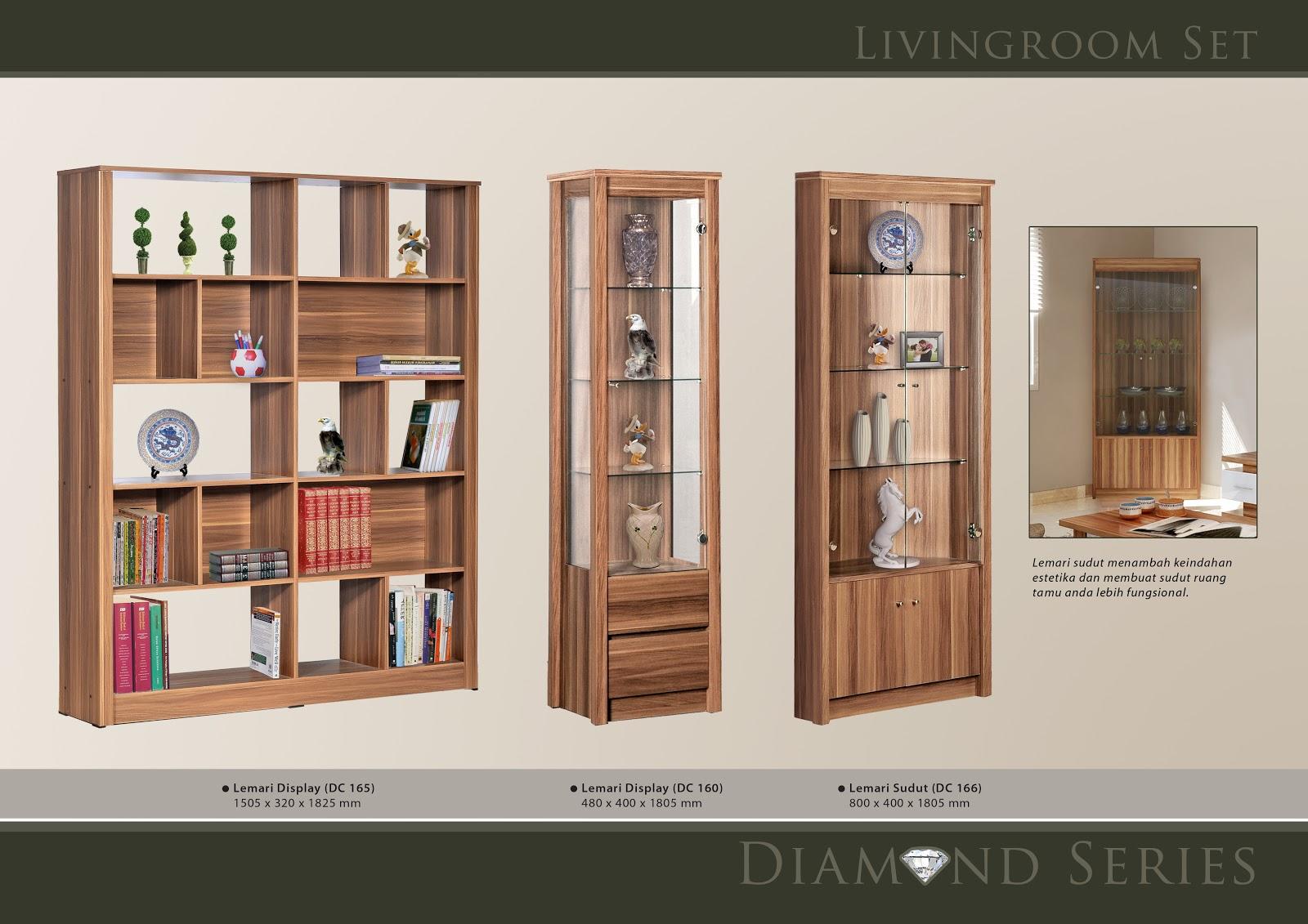 Toko Furniture Di Cianjur Lemari Hias Minimalis Benefit