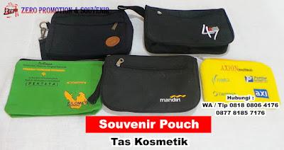 Souvenir Pouch / Tas kosmetik Custom | Barang Promosi, Mug Promosi, Payung Promosi, Pulpen Promosi, Jam Promosi, Topi Promosi, Tali Nametag