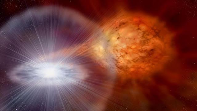 Lo nunca visto: Una estrella binaria con tres discos de gas