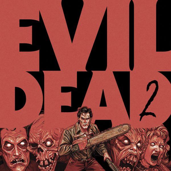 Evil Dead 2 (la cover fumettosa del vinile/LP)