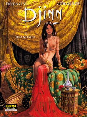 Djinn 13, Kim Nelson de Dufaux y Miralles; edita Norma Editorial