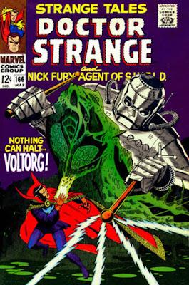 Strange Tales #166, Dr Strange vs Voltorg