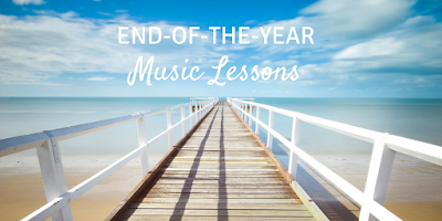 Ideas for your music classroom lessons at the end of the year!