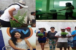 IFPB de Picuí recebe aluna Mexicana para o curso de Agroecologia