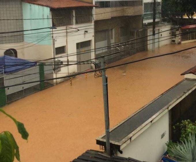 chuva em toda Grande Vitória: consequências