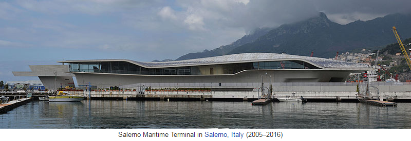 Salerno Maritime Terminal in Salerno, Italy (2005–2016)
