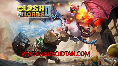 Download Clash Of Lords 2 Mod Apk v1.0.218 (Unlimited Money) Terbaru 2017