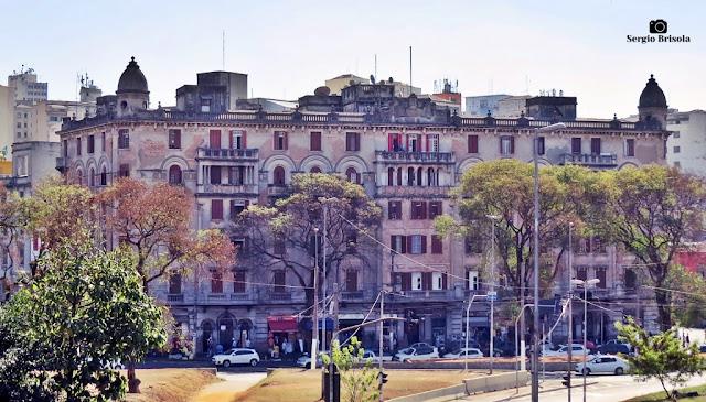 Vista ampla do Palacete Nacim Schoueri - Centro - São Paulo