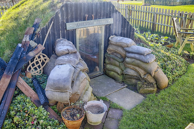 Dig for Victory Garden Newark Air Museum Anderson Shelter