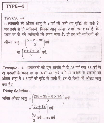 औसत: Maths Average Problems Short Tricks In Hindi औसत