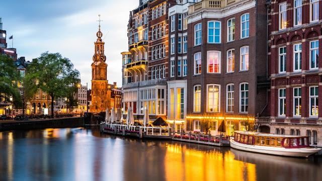 Condições climáticas em Amsterdã