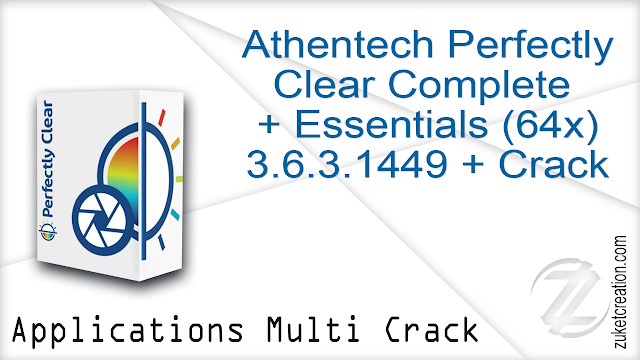 Athentech Perfectly Clear Complete Essentials (64x) 3.6.3.1449 + Crack