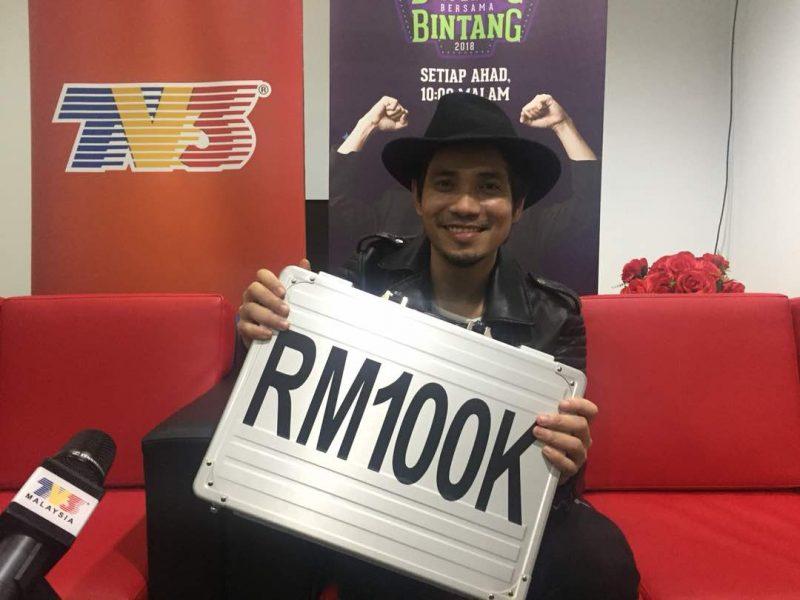 Bagus yer Mark Adam Kongsi Hadiah Juara Bintang Bersama Bintang