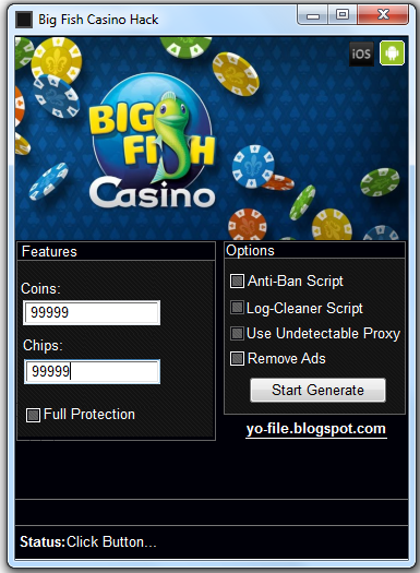 Big fish casino cheats 2018