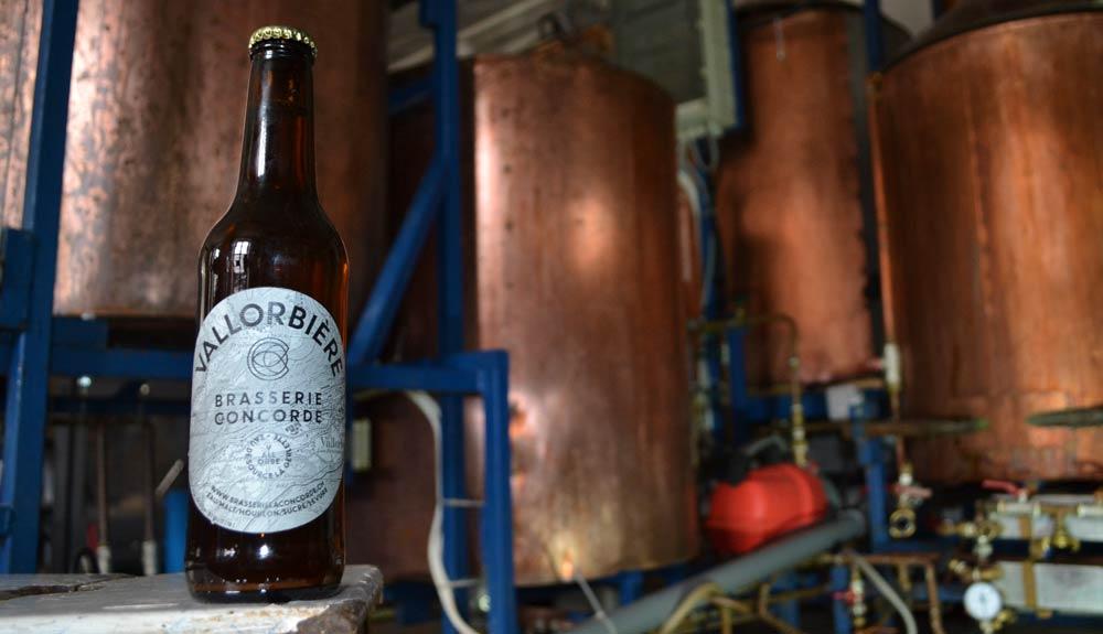 Brasserie La Concorde: bouteille et cuves
