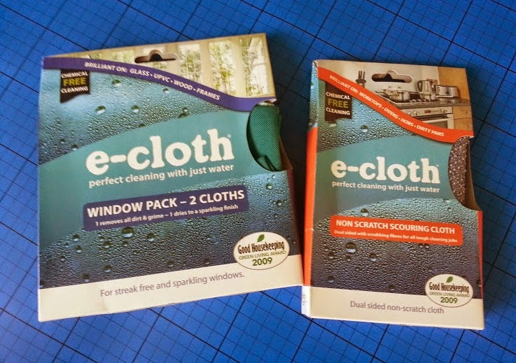 E-cloth anti allergy chemical free cleaning products review
