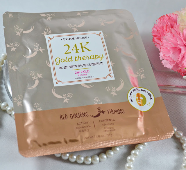 etude house 24k gold eye mask review