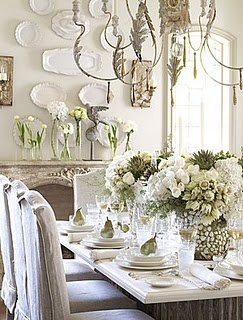 Decorating with plates and another wonderful giveaway ...