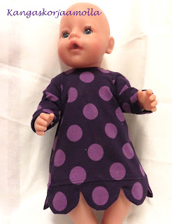 Baby Born nuken mekko