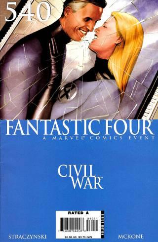 Civil War: Fantastic Four #540 PDF
