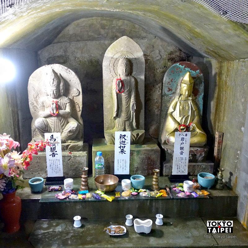 【岩戶觀音堂】小寺內別有洞天 能量隧道供奉33座觀音像
