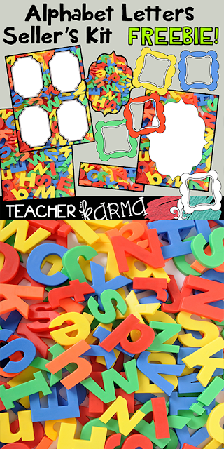 alphabet and letter graphics kit teacherkarma.com