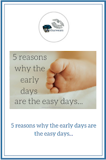 5 reasons why the early days are the easy days