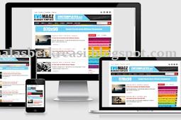 Evo Magz 4.7 Terbaru, Template Blogger Responsive dan SEO Friendly Gratis