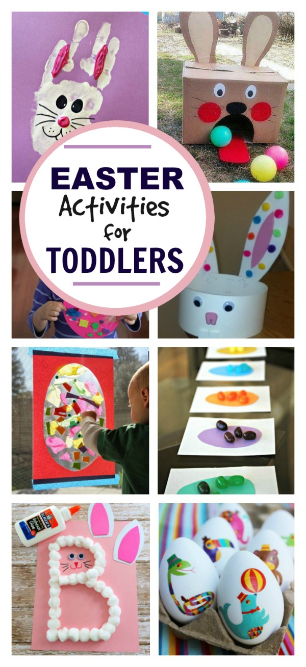 Super fun & utterly adorable Easter activities for toddlers & preschoolers