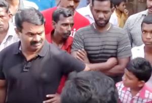 Seeman Flood Relif In Perambur Chennai