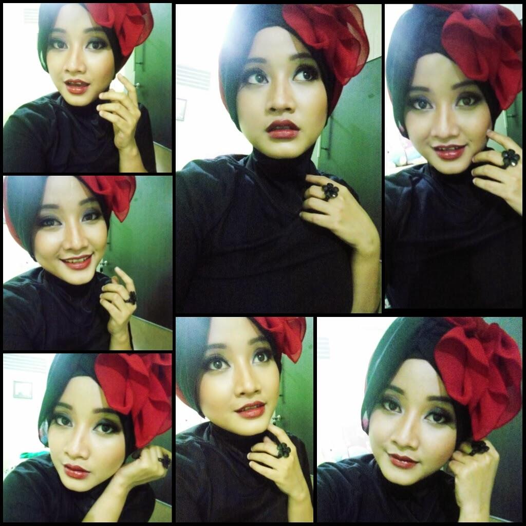 Gambar Tutorial Hijab Dewi Sandra  Tutorial Hijab