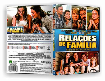 CAPA DVD – Relações De Familia – ISO