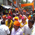धार - जिला राजपूत समाज ने मनाई महाराणा प्रताप जयंती, निकाली शोभायात्रा