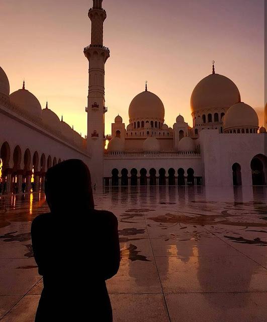 Abu Dhabi, Gran Moschea dello Sceicco Zayed. Alessia Siena