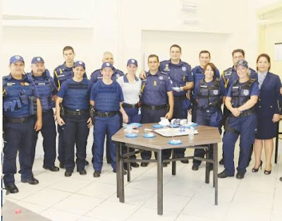 Guarda Municipal de Foz do Iguaçu (PR) comemora 22 anos de policiamento na fronteira