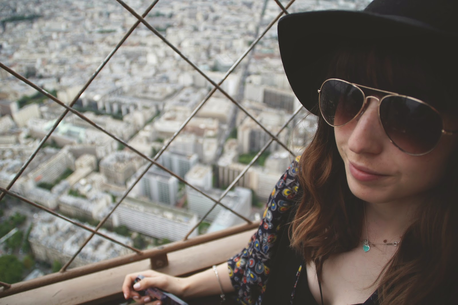 Hello Freckles Paris Eiffel Tower