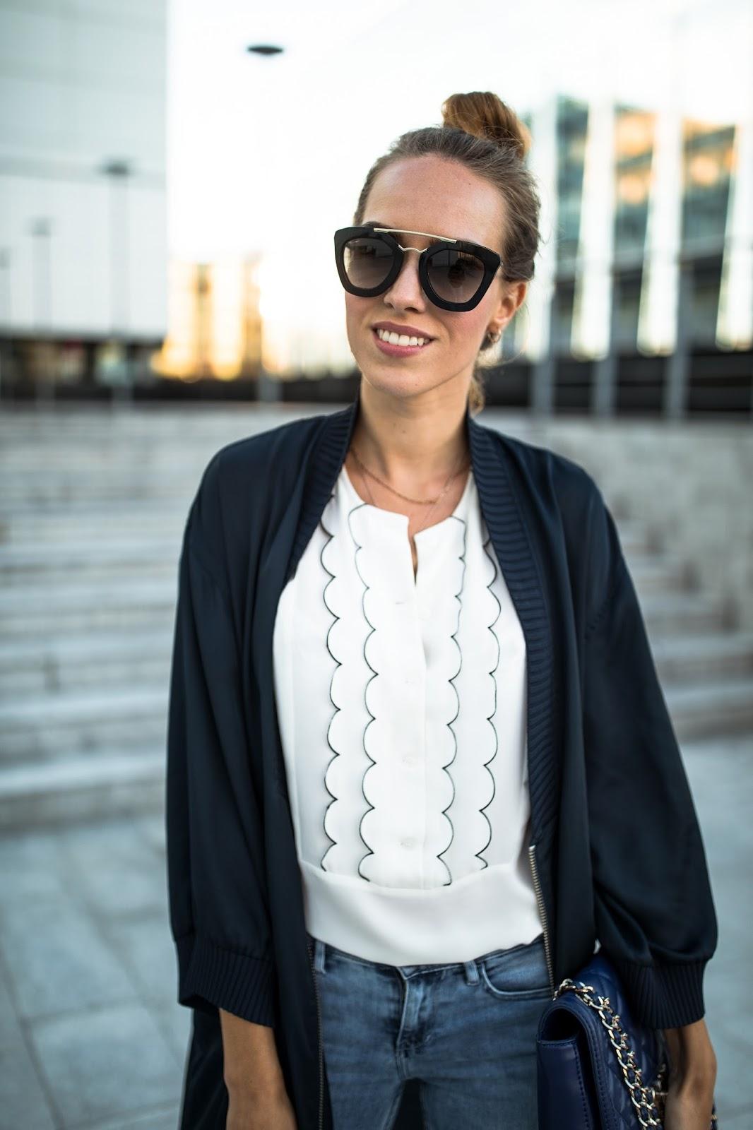 prada sunglasses outfit summer