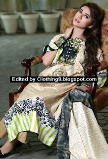 Classic Cotton Embroidered Eid Suits 2015