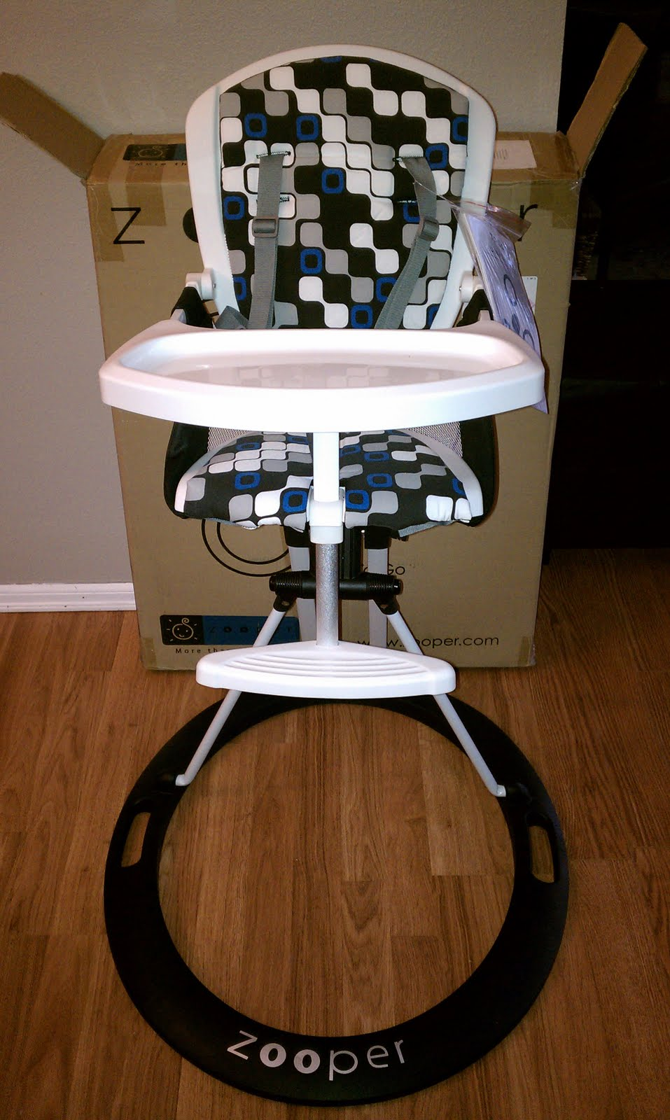 Zooper High Chair Review   Frugal Family Tree We are now fans of the Zooper brand  They make several types of strollers  including a two seated one  You can learn more about their products by  following