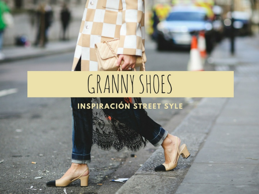 granny shoes street style inspo, littledreamsbyr