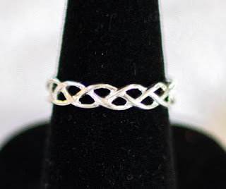Sterling Silver Braid Ring