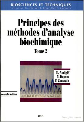 Télécharger Livre Gratuit Principes des méthodes d'analyse biochimique, Tome 2 pdf