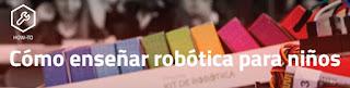 enseñar robotica a peques