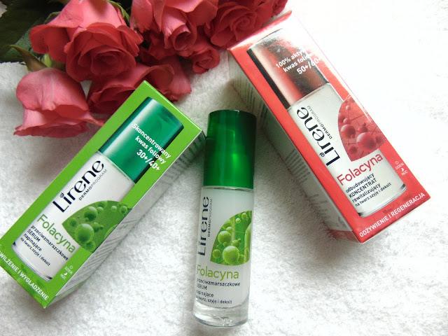Folacyna Serum napinające na twarz, szyję i dekolt - Lirene
