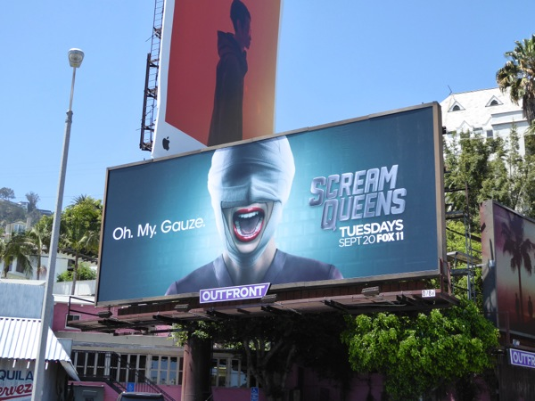 Scream Queens season 2 teaser billboard