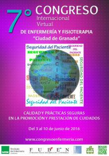 """VII CONGRESO INTERNACIONAL VIRTUAL PARA ENFERMERÍA Y FISIOTERAPIA """"Ciudad de Granada"""""""
